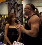Rob Van Dam and Christy Hemme